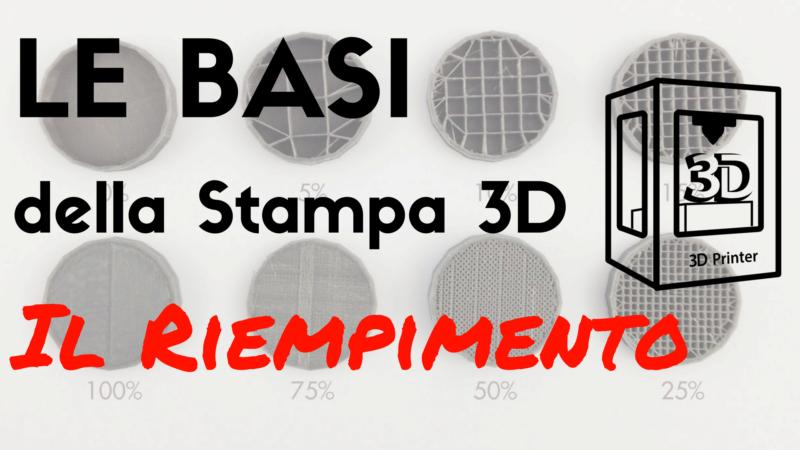 Riempimento stampa 3D