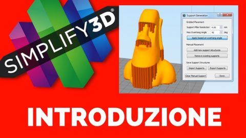 Introduzione Simplify 3D