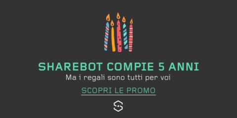 Buon compleanno Sharebot