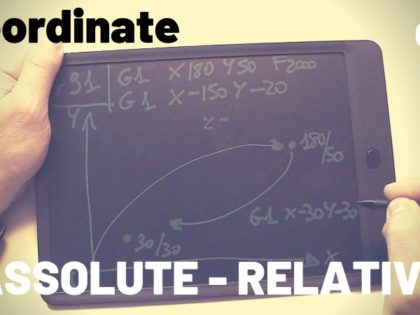 Coordinate assolute o relative ?