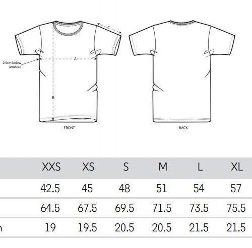 Le taglie delle magliette Help3D
