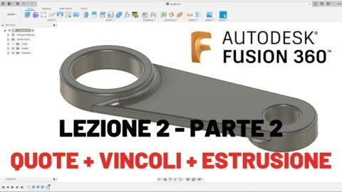 Parte 2 - fusion 360