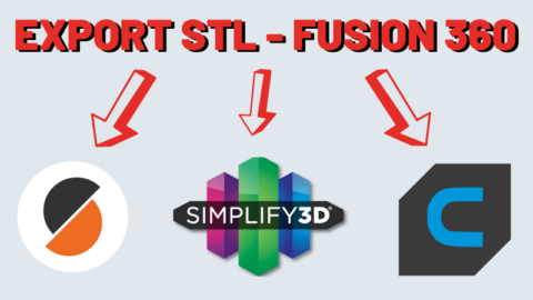Export STL Fusion 360