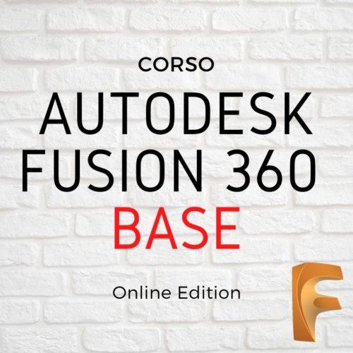 Corso base Fusion 360