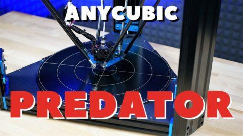 Anycubic predator delta web
